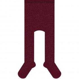 MELTON Tights W. Lurex - Bordeaux