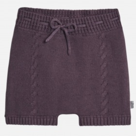 Hust and Claire Harper strik shorts lavendel