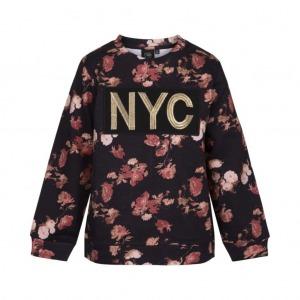 PETIT BY SOFIE SCHNOOR NYC Flower Sweatshirt