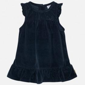 Hust and Claire darja kjole velour blå