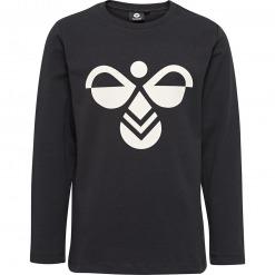 Hummel – hmlHarper – L/Æ T-shirt m. Logo, Sort