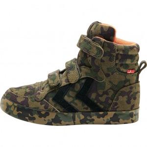 Hummel stadil camo sneaker jr side
