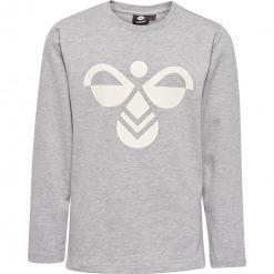 Hummel – hmlHarper – L/Æ T-shirt m. logo, Grå