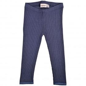 Papfar Rib Leggings - Blue Nights