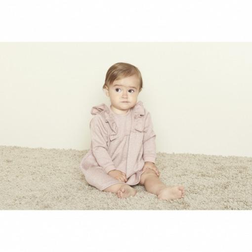 Petit by Sofie Schnoor Mina - Kjole, Lys Rosa m. Glimmer