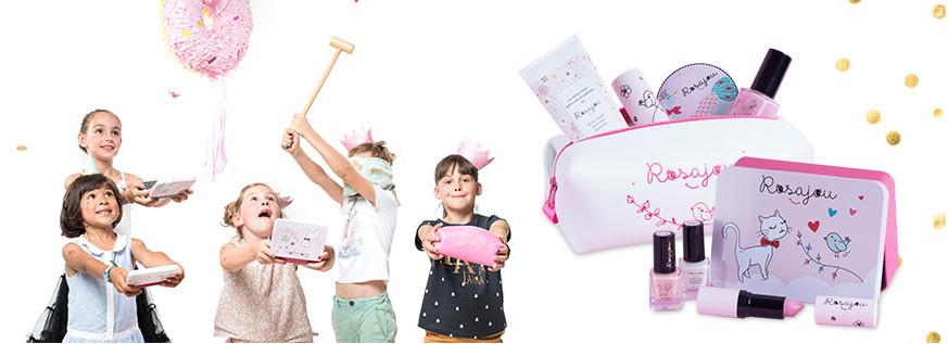 Rosajou gavesæt - makeup til børn