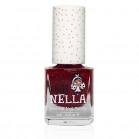 Miss-Nella neglelak -Jazzberry-Jam - rød med glitter