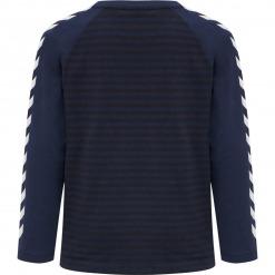 Hummel bluse Kenji langærmet - Black Iris - blåstribet