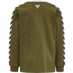 Hummel sweatshirt Kyoto - Military Olive / Army Grøn