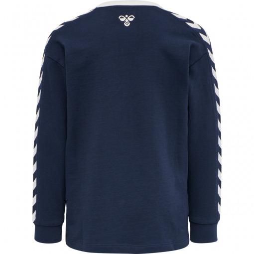 Hummel Kyoto Sweatshirt trøje Black Iris / Navy