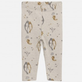 Hust and Claire baby leggings lille ochre karrygul