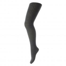 MP Denmark strømpebukser superwash wool uld dark grey melange mørkegrå meleret
