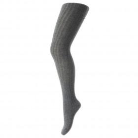 MP Denmark strømpebukser tights dark grey melange mørkgrå meleret