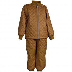 Mikk-Line Termotøj - Golden Brown - Gylden brun - For