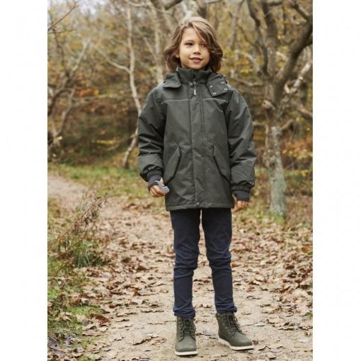 Wheat Albert Vinterjakke dreng - Ivy Grøn