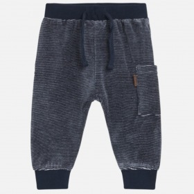 Hust and Claire gus joggingbukser navy m. striber