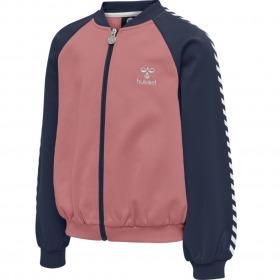 Hummel zip jakke cardigan - Line - Black Iris