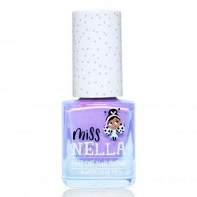Miss Nella Neglelak Butterfly Wings - Lilla m. Glimmer