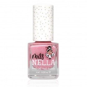 Miss Nella neglelak - Cheeky Bunny - Rosa m. Glimmer