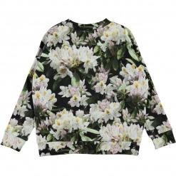 Molo sweatshirt Maxi - Pretty Puppies - Blomster print