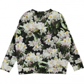Molo sweatshirt Maxi - Pretty Puppies - Blomster print