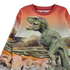 Molo sweatshirt Mountoo - Dino Landscape