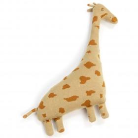 Smallstuff pude giraf hazel-gyldenbrun