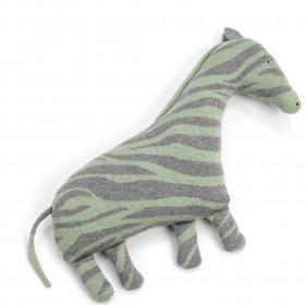 Smallstuff pude zebra Grey - grå - grøn