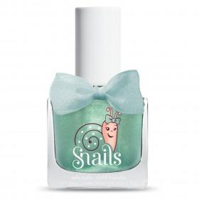 Snails neglelak Magic crystal - lys grøn m. perlemor