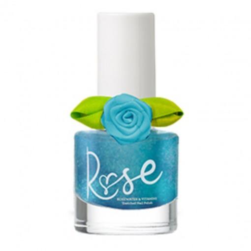 Snails neglelak Rose Peel Off - OMG - Blå med Perlemor