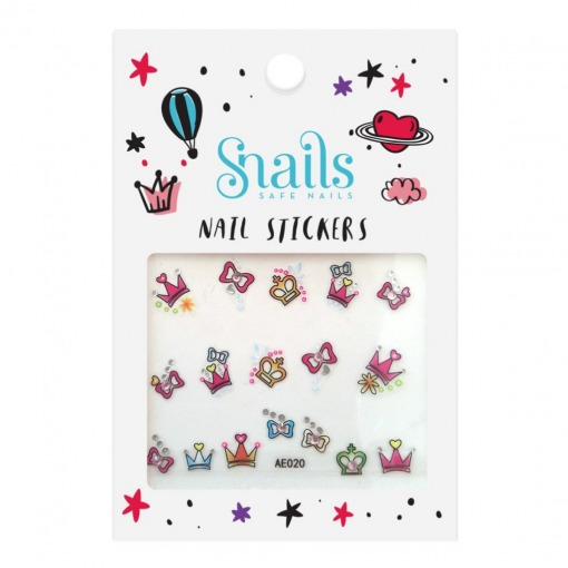 Snails neglestickers klistermærker perfect princess-prinsesse