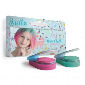 Snails hårkalk Enhjørning - Unicorn - Pink og Grøn - 2 pak