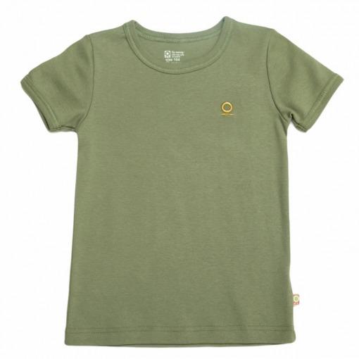 Katvig T-shirt - kortærmet - Olivengrøn