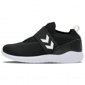 Hummel Sneakers Knit Slip-On - Sort - Black - Recycle