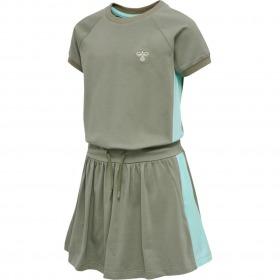 Hummel kjole - Sunny - Vetiver - grøn-turkis