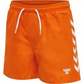 Hummel shorts - delta board - scarlet ibis-orange