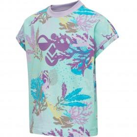 Hummel t-shirt sea - blue tint - blå