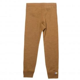 Joha leggings uld-silke - kanel - brun