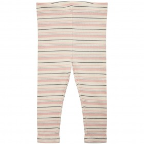 Petit By Sofie Schnoor Leggings - Lily - Light Rose - rosa m. striber