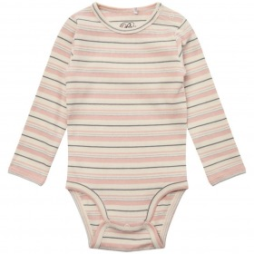 Petit By Sofie Schnoor body - Dicte - light rose - rosa m. striber