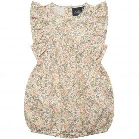 Petit By Sofie Schnoor jumpsuit - Antonina - Offwhite - offwhite m. blomsterprint
