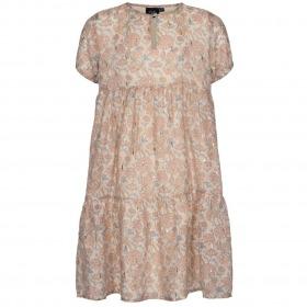 Petit By Sofie Schnoor kjole - Izme - light rose - rosa m. blomsterprint