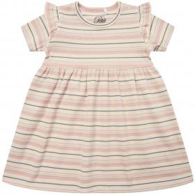 Petit By Sofie Schnoor kjole - Synne - Light Rose - rosa m. striber