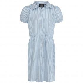 Petit By Sofie Schnoor kjole - Valeria - light blue - blå m. stirber