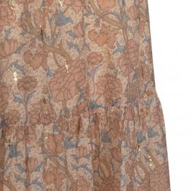 Petit By Sofie Schnoor nederdel - Vivi - Light Rose - rosa m. blomsterprint