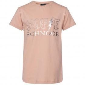 Petit By Sofie Schnoor t-shirt - Felina - light rose-rosa