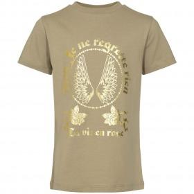 Petit By Sofie Schnoor t-shirt - asta - dusty green - grøn