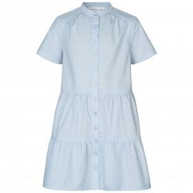 Rosemunde kjole - korte ærmer - heather sky - lyseblå