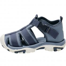 Hummel børnesandaler Buckle infant - Flint Stone - blå - lukkede sandaler