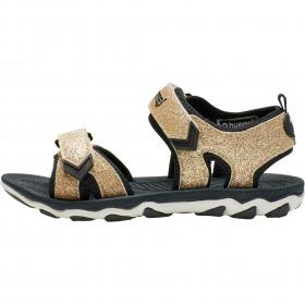 Hummel sandaler til børn - sport glitter jr gold - guld